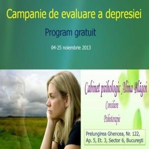 program-depresie