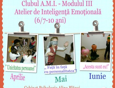 Atelier Inteligenta Emotionala